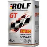 РОЛЬФ GT SAE 5w-40 SN/CF (синт) 4л